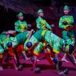 Coconut Shell Dance at Kanell Restaurant