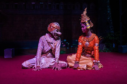 Hanuman Mermaid Dance Show at Kanell Siem Reap