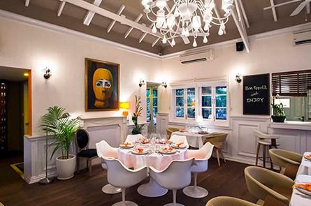Inside Embassy Restaurant