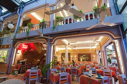 Front View Amok Restaurant Pub Street