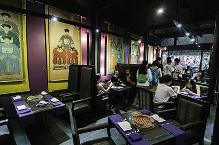 Inside Cambodian BBQ Pub Street