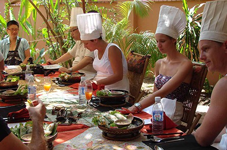 Lunch Time at Champey Cooking Class