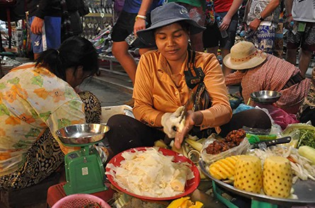 Siem Reap Local Market