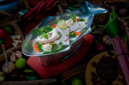 Steamed Fish Lemon