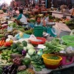 Cambodia Vegetable Market