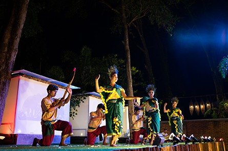 Cambodian Ethnic Group Dance Show