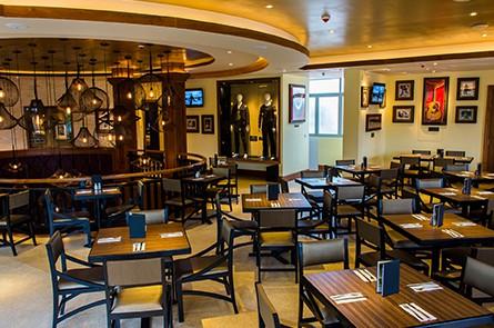 Inside Hard Rock Cafe