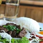 Beef Lok Lak With Eggs