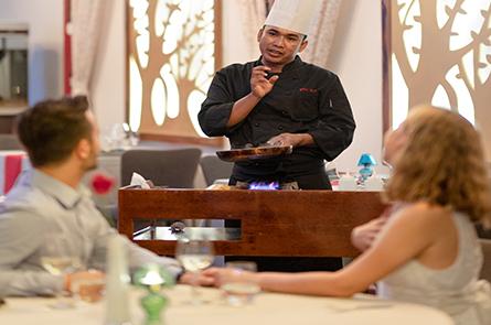 Chef Explain Guest