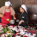 Guest Learning Cooking Class