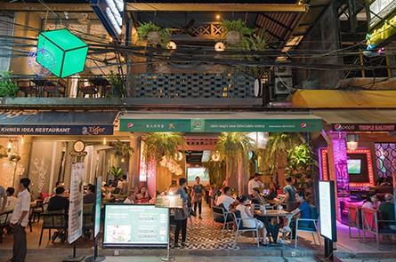 Paper Tiger Eatery Pub Street Siem Reap