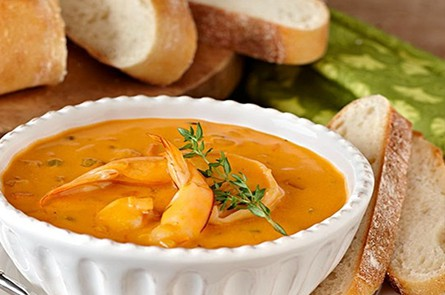 Prawn Bisquesea Food