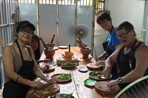 Ratanak Cuisine Cooking Class Eat Fresh Organic Product for Healthy Life