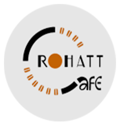 Rohatt Cafe Restaurant Logo