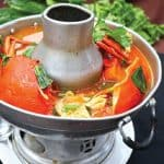 Tom Yam Soup with Crab