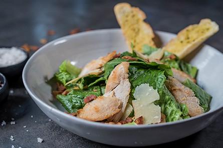 Walnut Salad and Blue Cheese Salad