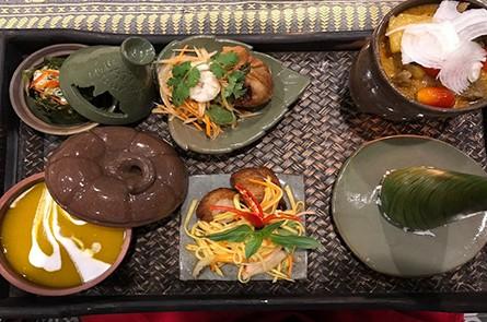 Amok Mango Salad Curry