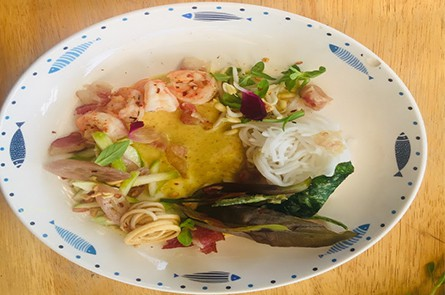 Cambodia Noodle With Sea Food