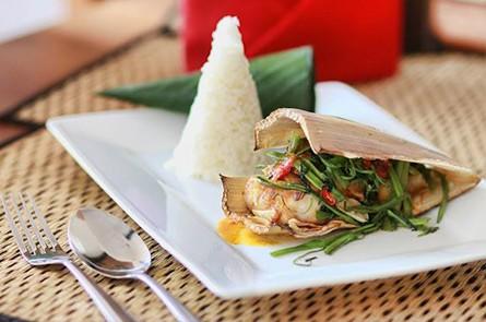 Rice Khmer Food