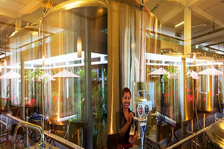 Siem Reap Brewpub Inside View