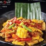 Corn Spicy Salad