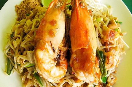 Fried Noodle with Sea Food
