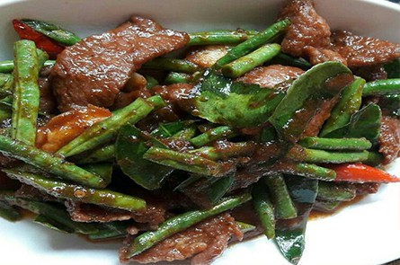 Fried Vegetable with Beef