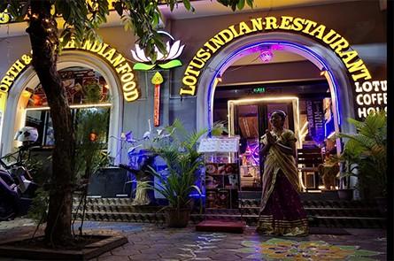Lotus Indian Night View