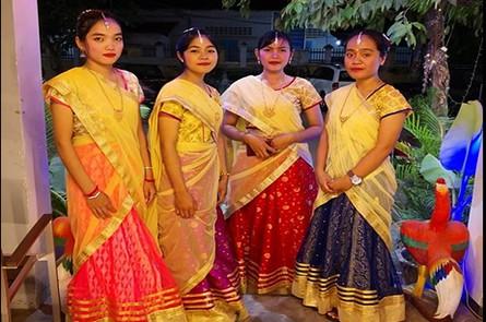 Lotus Indian Staff