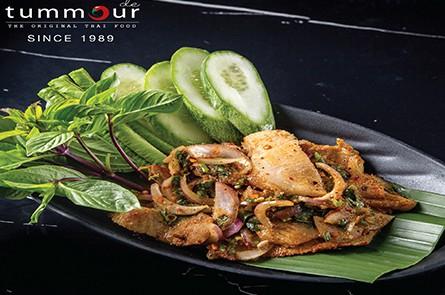 Pork Spicy Sour Salad