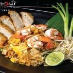 Stir Fried Noodle Thai Style Padthai Tummour