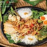 Tum Yok Thad Mixed Somtum Platter