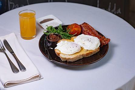 Bacon Eggs Sandwich