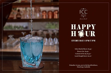 Fa Happy Hour at FCC Angkor