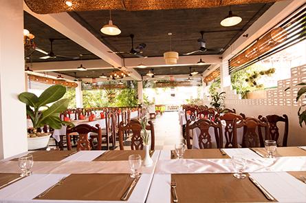 Queen Cuisne Restaurant Roof View