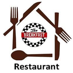 The Breakfast Restaurant Logo