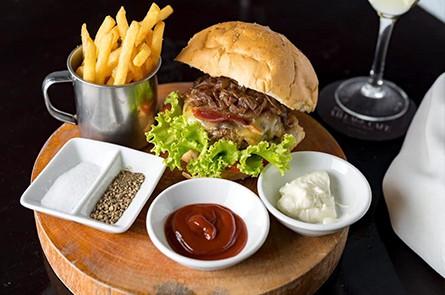 The Village Cafe Burger