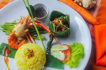 Yellow Rice Shrimp