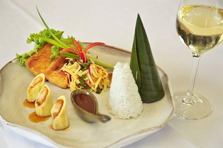 Fish Mango Salad