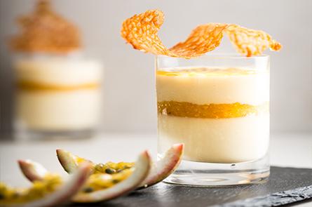 Food Dessert Trio Panacotta Credit Regis