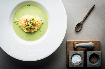 Food Green Pea Soup Credit Regis Binard