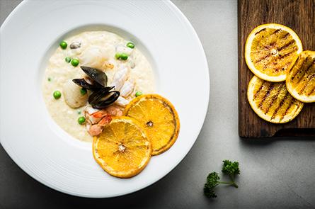Food Seafood Risotto Credit Regis Binard
