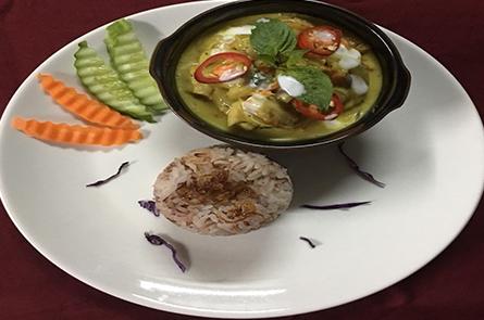 Rice Amok