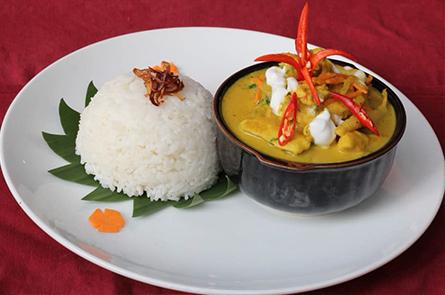 Rice Fish Amok
