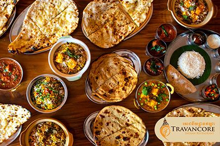 Travancore Indian Restaurant Food